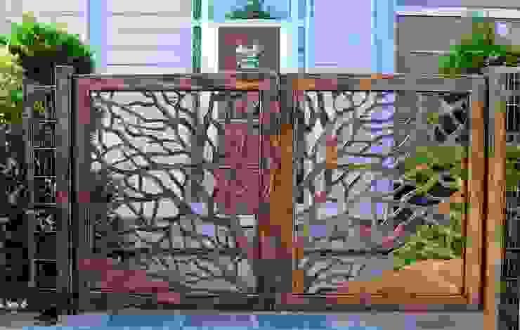 Vườn phong cách hiện đại bởi Teknik Metal Ferforje Hiện đại