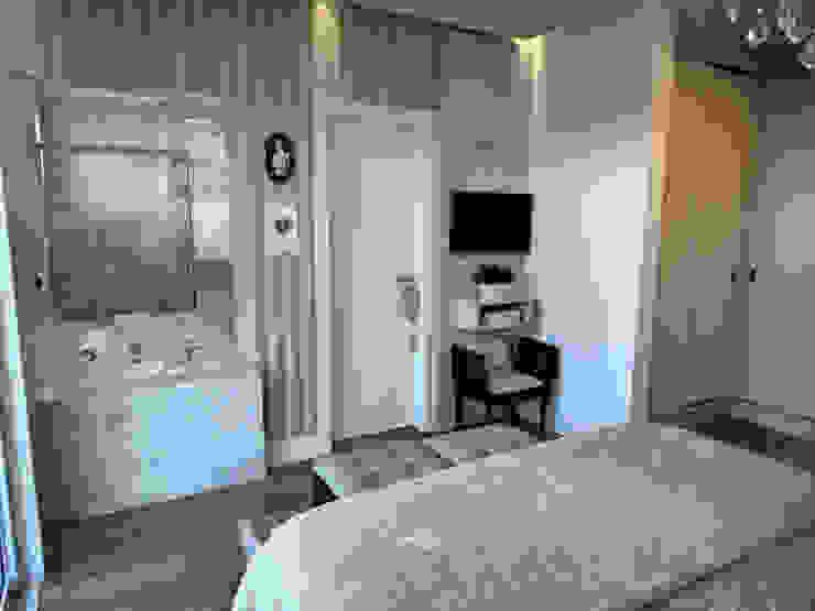 Suite Master: Quartos  por Gabriela Herde Arquitetura & Design,