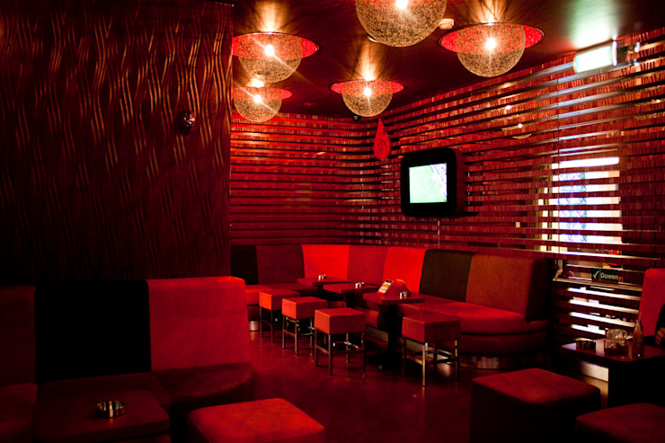 Diego Alonso designs Modern bars & clubs