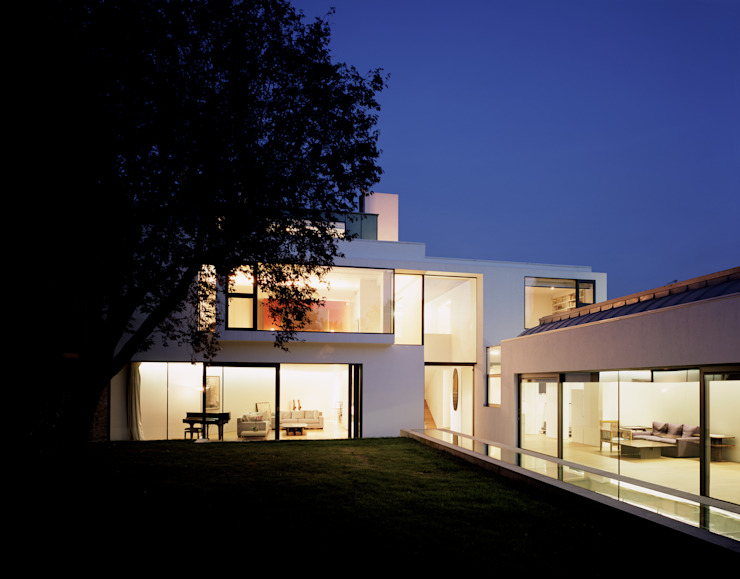 The Long House Keith Williams Architects Minimalist houses