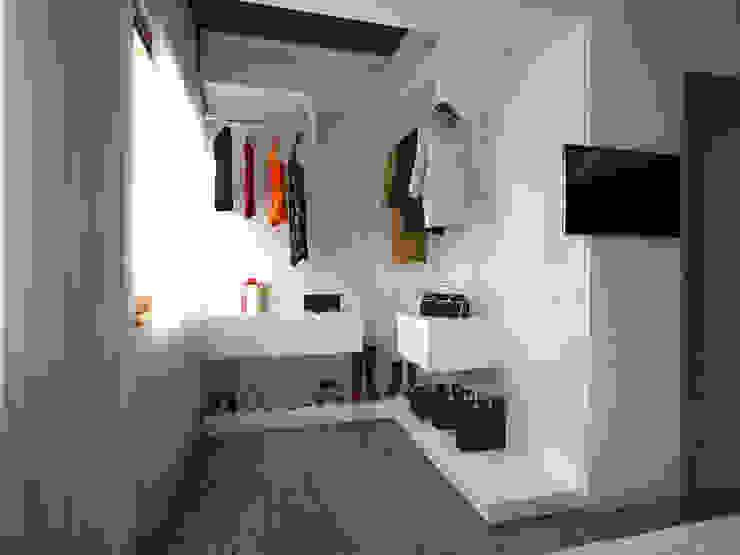 İNDEKSA Mimarlık İç Mimarlık İnşaat Taahüt Ltd.Şti. – İNDEKSA İÇ MİMARLIK:  tarz Giyinme Odası,