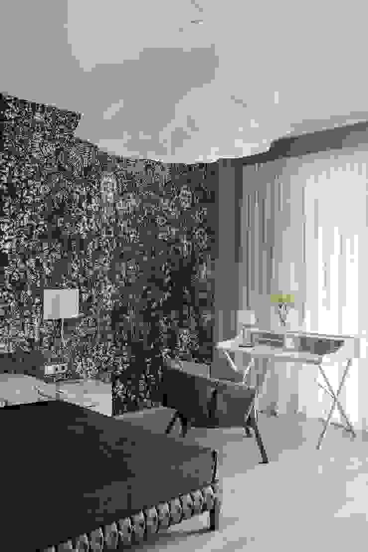 Свет и воздух Спальня в стиле минимализм от Анна и Станислав Макеевы Минимализм