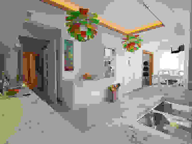 İNDEKSA Mimarlık İç Mimarlık İnşaat Taahüt Ltd.Şti. – İNDEKSA İÇ MİMARLIK:  tarz Mutfak,