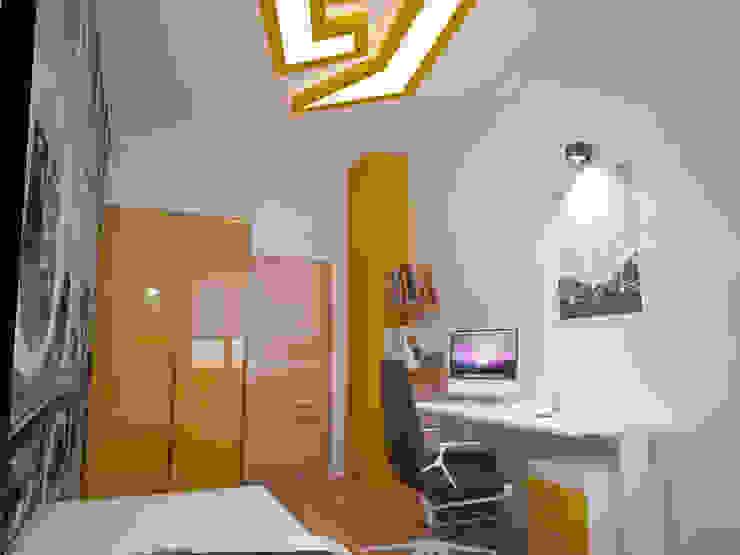 İNDEKSA ÖRNEK DAİRE ÇALIŞMASI Modern Çocuk Odası İNDEKSA Mimarlık İç Mimarlık İnşaat Taahüt Ltd.Şti. Modern