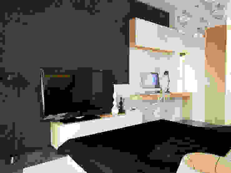 İNDEKSA Mimarlık İç Mimarlık İnşaat Taahüt Ltd.Şti. – İNDEKSA ÖRNEK DAİRE ÇALIŞMASI:  tarz Yatak Odası,
