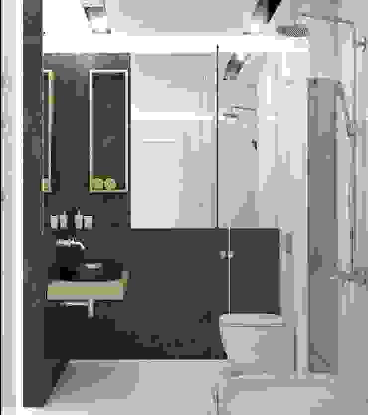 Лофт Ванная комната в стиле минимализм от E_interior Минимализм
