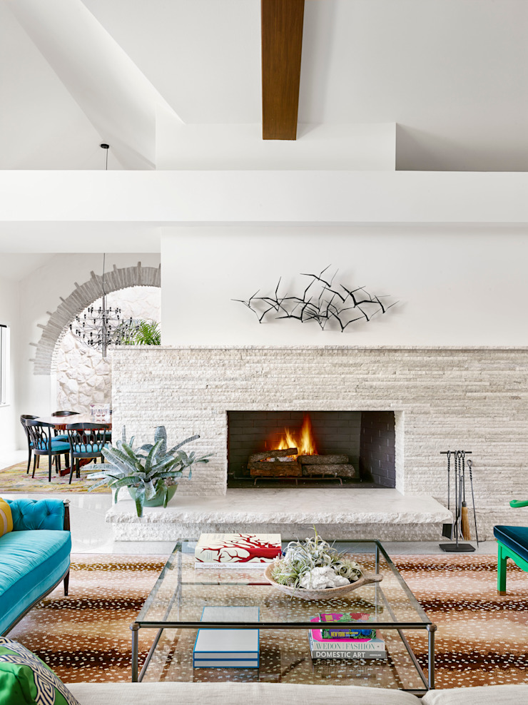Maywood Residence Hugh Jefferson Randolph Architects Modern living room