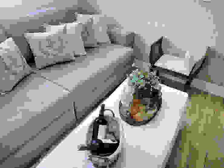 Sala Intima Salas de estar rústicas por Gabriela Herde Arquitetura & Design Rústico