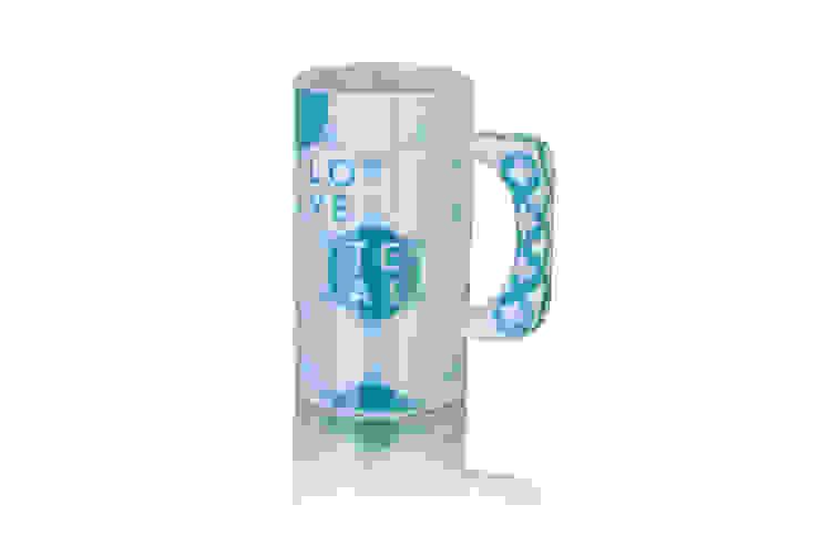 Ogromny kubek porcelanowy Love Tea od Silly Design - prezentowa porcelana Skandynawski