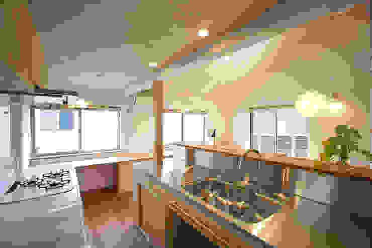 Kitchen by 光風舎1級建築士事務所,