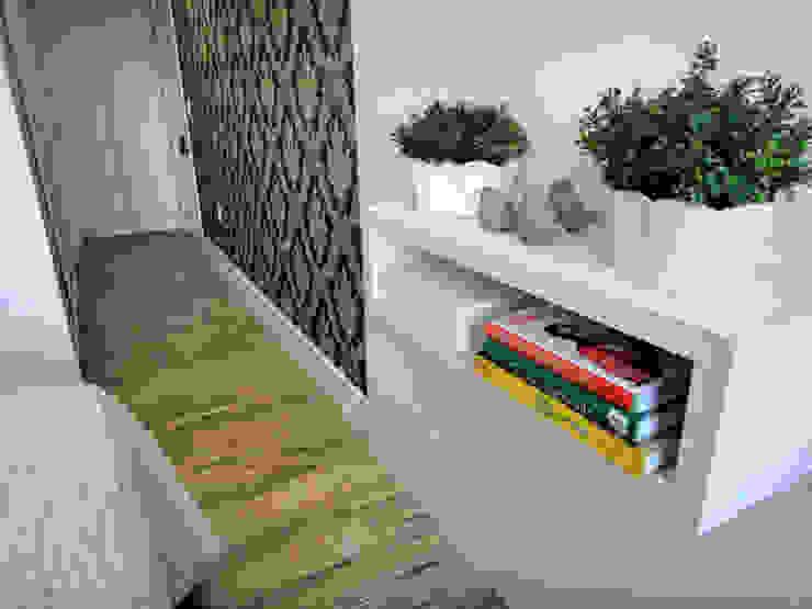Eclectic style bedroom by Gabriela Herde Arquitetura & Design Eclectic