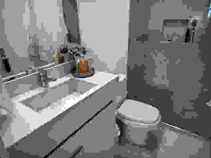 Banheiro de Visitas Banheiros ecléticos por Gabriela Herde Arquitetura & Design Eclético