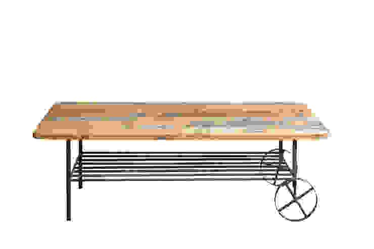 torocco table: gleamが手掛けた工業用です。,インダストリアル