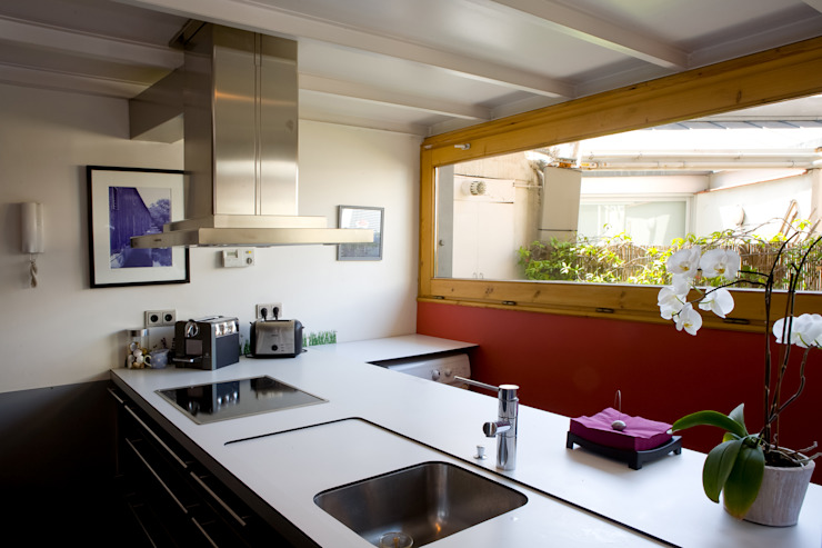 LOFT ATOCHA. Madrid Cocinas industriales de Beriot, Bernardini arquitectos Industrial