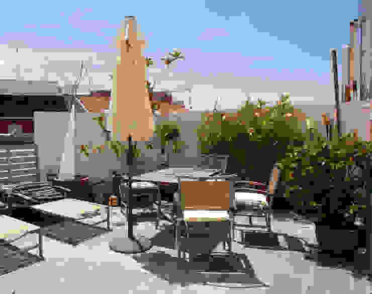 Beriot, Bernardini arquitectos Varandas, alpendres e terraços modernos