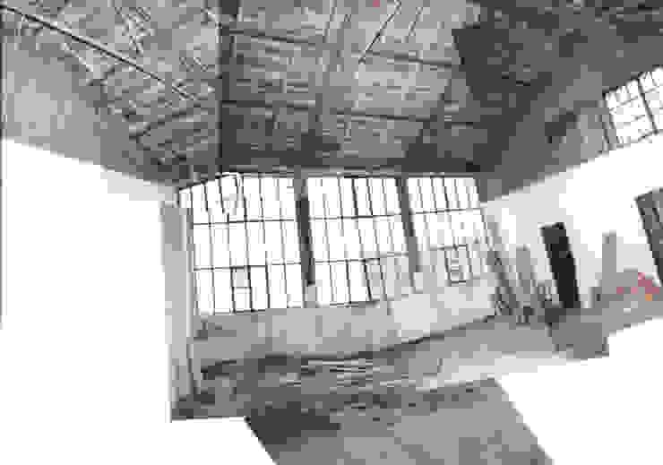 LOFT ATOCHA. Madrid Oficinas y bibliotecas de estilo industrial de Beriot, Bernardini arquitectos Industrial