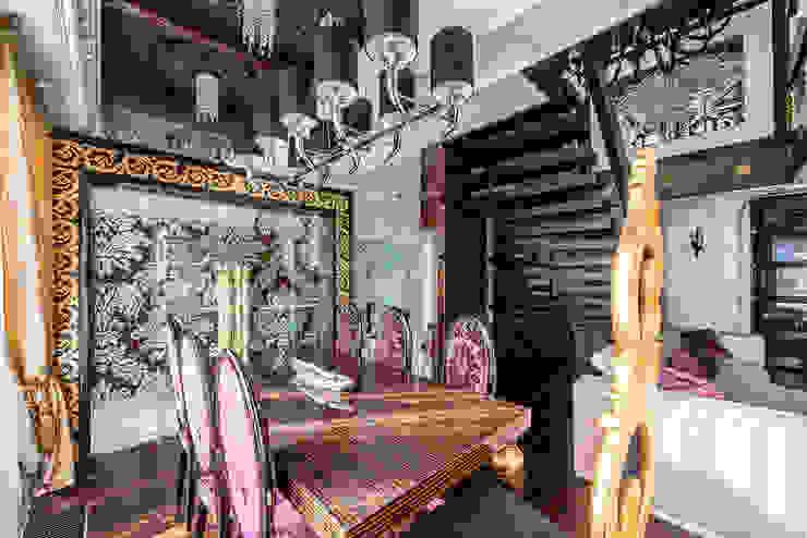 Интерьер квартиры в стиле Эклектики Столовая комната в эклектичном стиле от Belimov-Gushchin Andrey Эклектичный