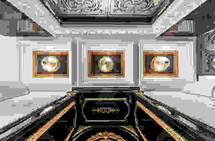 Интерьер квартиры в стиле Эклектики Коридор, прихожая и лестница в эклектичном стиле от Belimov-Gushchin Andrey Эклектичный