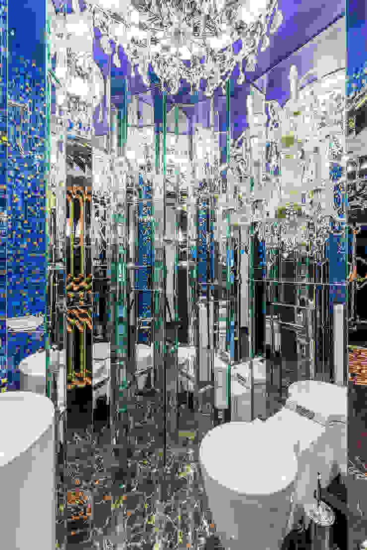 Гостевой туалет Ванная комната в эклектичном стиле от Belimov-Gushchin Andrey Эклектичный