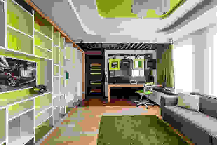 Интерьер квартиры в стиле Эклектики: Детские комнаты в . Автор – Belimov-Gushchin Andrey,