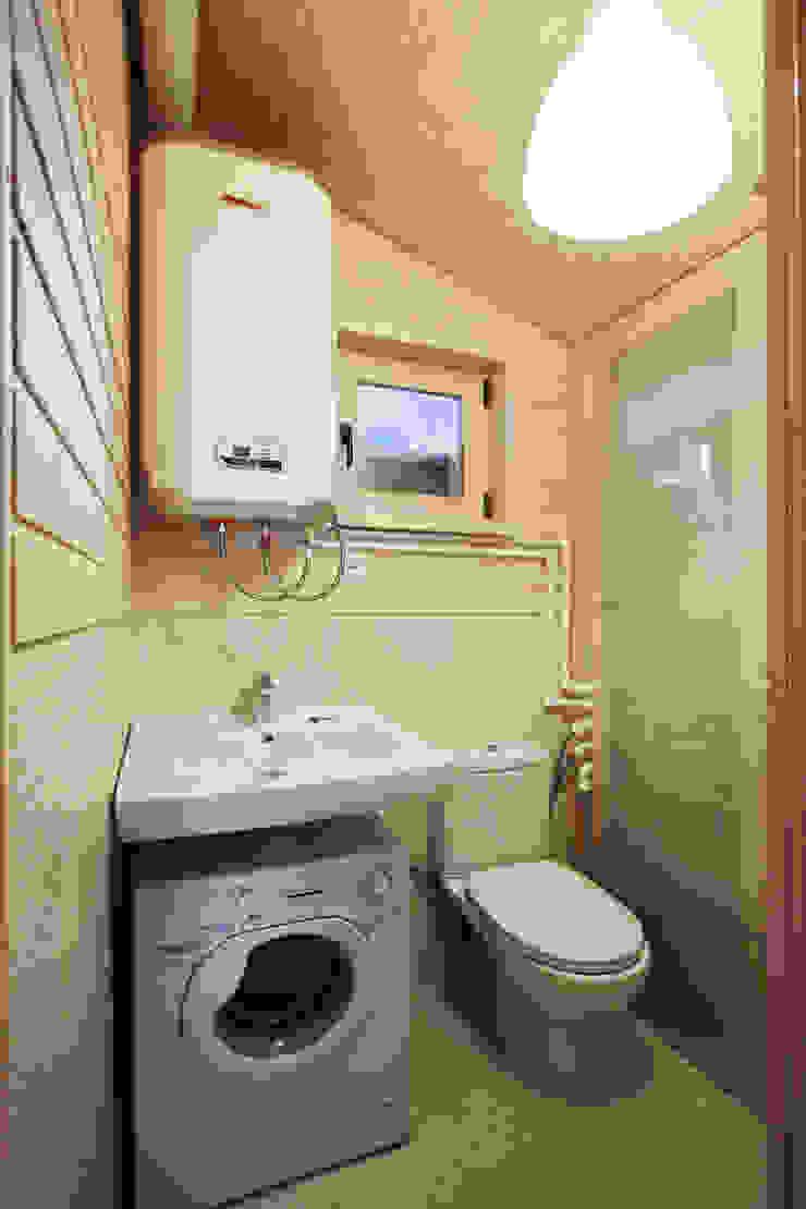 ДубльДом Ванная комната в скандинавском стиле от BIO - architectural Bureau of Ivan Ovchinnikov Скандинавский