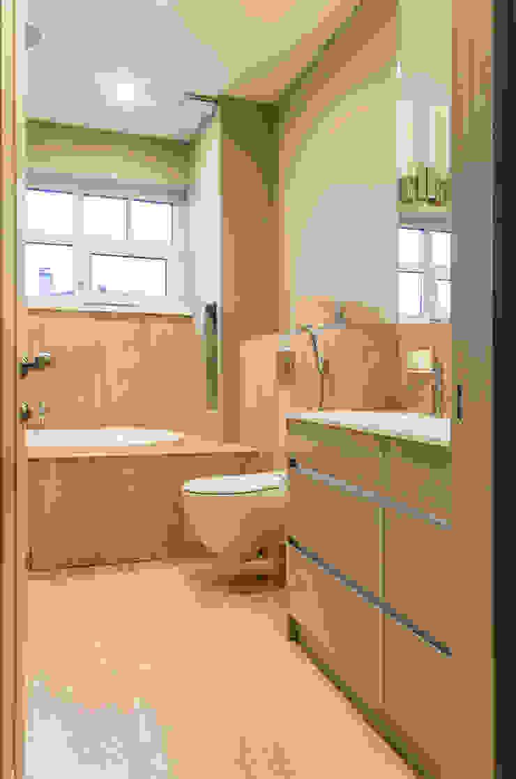 Дом в КП Онегин Парк Ванная комната в скандинавском стиле от projectorstudio Скандинавский