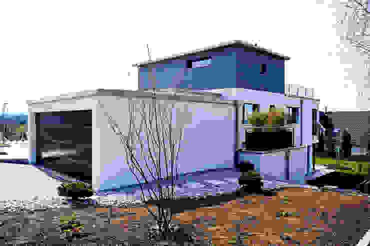EFH Oberwil-Lieli Moderne Häuser von Füglistaller Architekten AG Modern