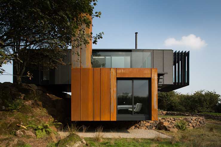 Grillagh Water Casas modernas de Patrick Bradley Architects Moderno