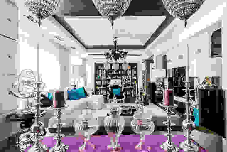 Интерьер квартиры в стиле Фьюжн Столовая комната в классическом стиле от Belimov-Gushchin Andrey Классический