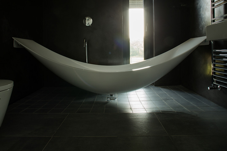 Grillagh Water Patrick Bradley Architects Modern bathroom