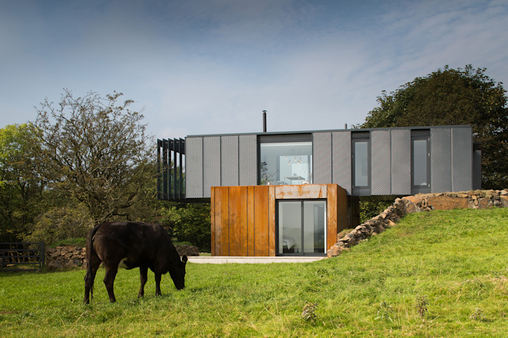 Grillagh Water Casas modernas: Ideas, diseños y decoración de Patrick Bradley Architects Moderno