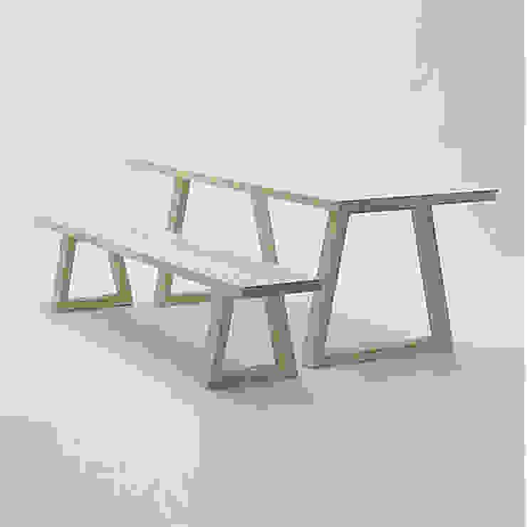 Mobiliario de jardines y exteriores:  de estilo industrial de Muebles caparros, Industrial