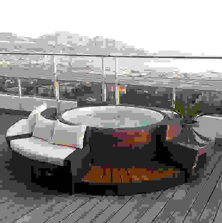 Mobiliario de jardines y exteriores Jardines de estilo moderno de Muebles caparros Moderno