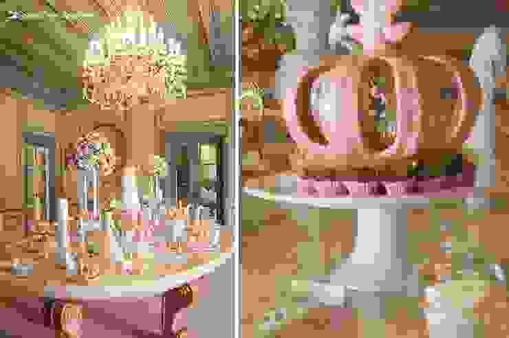 A belíssima mesa e a coroa da Princesa Sofia por Lima Limão- Festas com charme Clássico