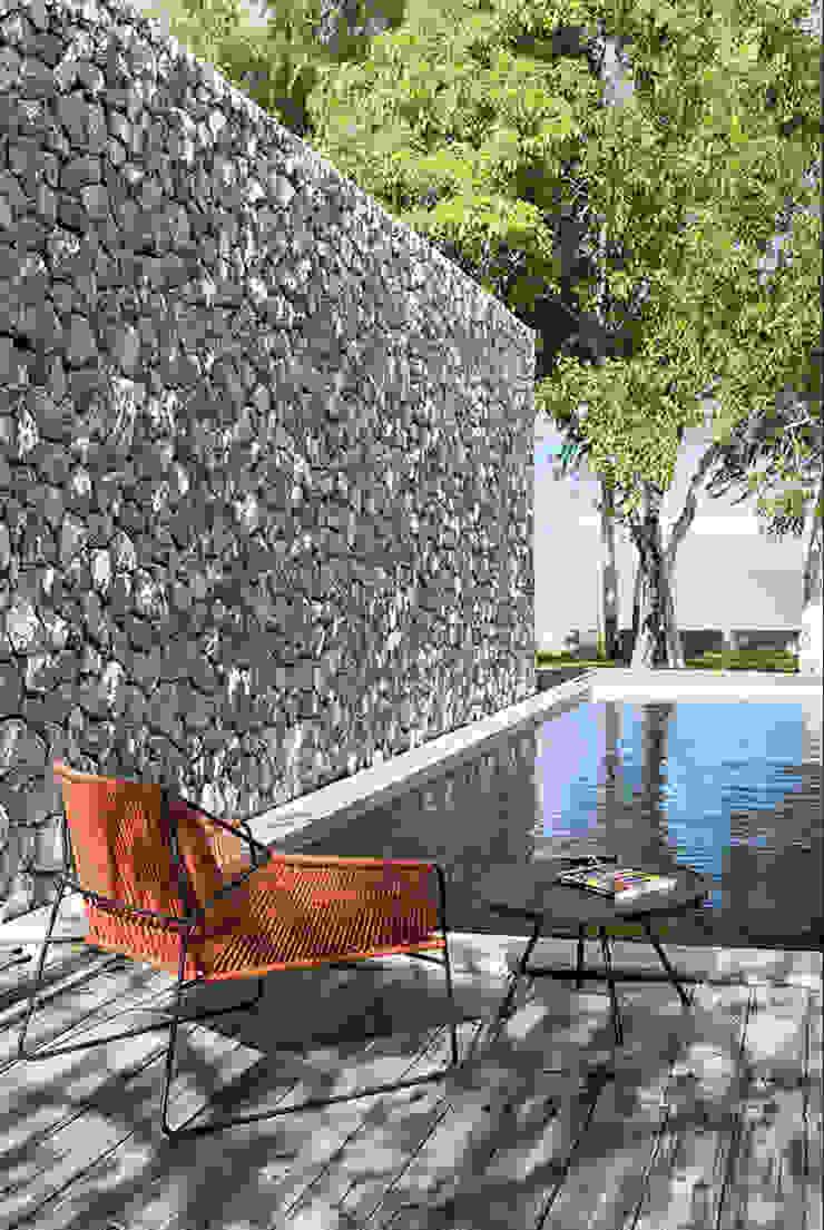 Mobiliario de jardines y exteriores Piscinas de estilo rural de Muebles caparros Rural
