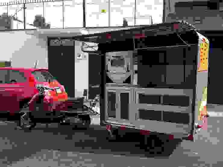 food truck Gastronomía de estilo clásico de Armatoste studio Clásico