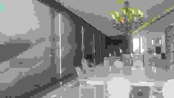 Vivienda en Roca Llisa, Ibiza Salones de estilo minimalista de Ivan Torres Architects Minimalista