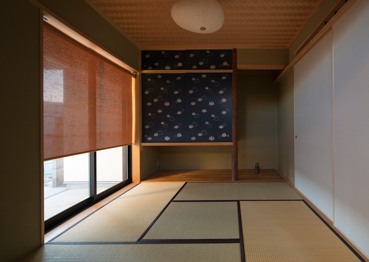 和室 クラシックデザインの 多目的室 の アトリエ・ブリコラージュ一級建築士事務所 クラシック