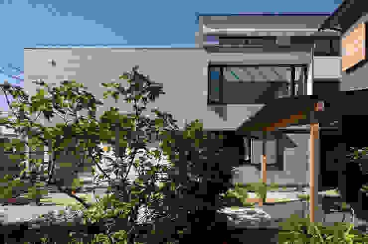 外観 モダンな庭 の アトリエ・ブリコラージュ一級建築士事務所 モダン