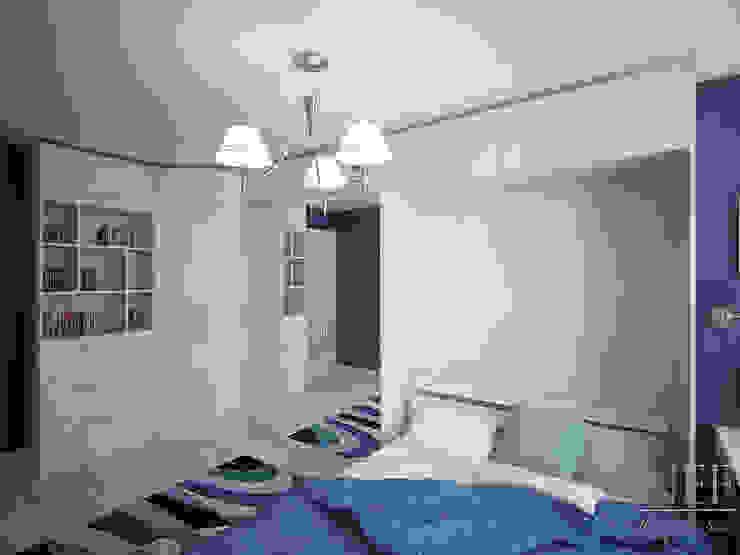 Квартира в современном стиле Спальня в скандинавском стиле от Юлия Паршихина Скандинавский