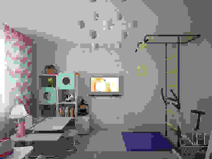 Квартира в современном стиле Детская комнатa в скандинавском стиле от Юлия Паршихина Скандинавский