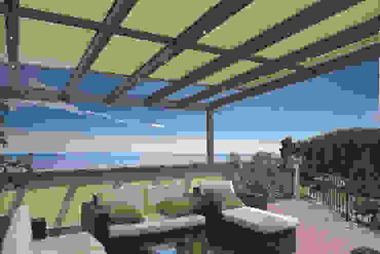 KLAIBER Sonnen- und Wetterschutztechnik GmbH Modern balcony, veranda & terrace