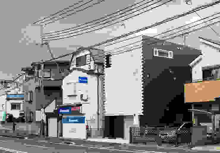 外観: 田中幸実建築アトリエが手掛けた現代のです。,モダン