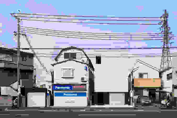 外壁: 田中幸実建築アトリエが手掛けた現代のです。,モダン