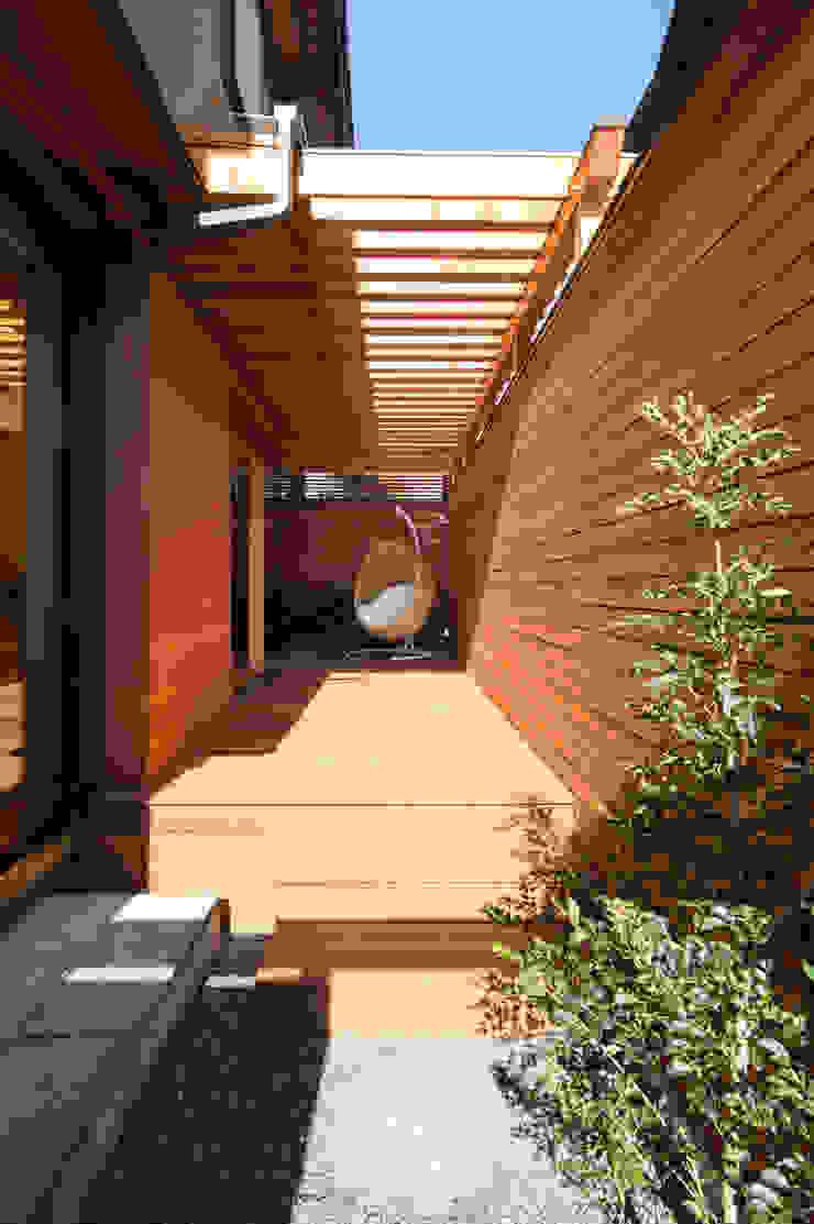 テラス アジア風 庭 の アトリエ・ブリコラージュ一級建築士事務所 和風