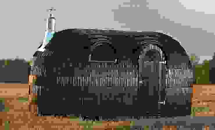 Projekty,   zaprojektowane przez SPACE GARDEN, Skandynawski
