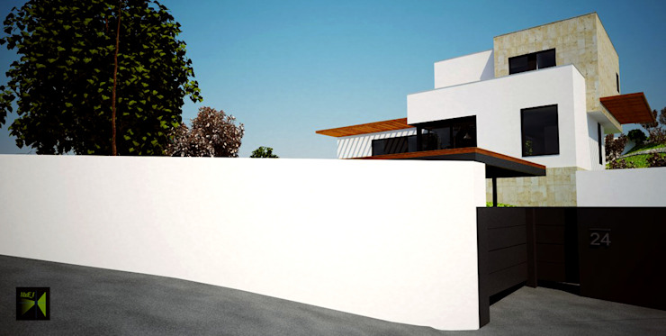 Made_ll_Modular_VIVIENDA en ALICANTE Casas de estilo mediterráneo de Madehome Arquitectura Mediterráneo
