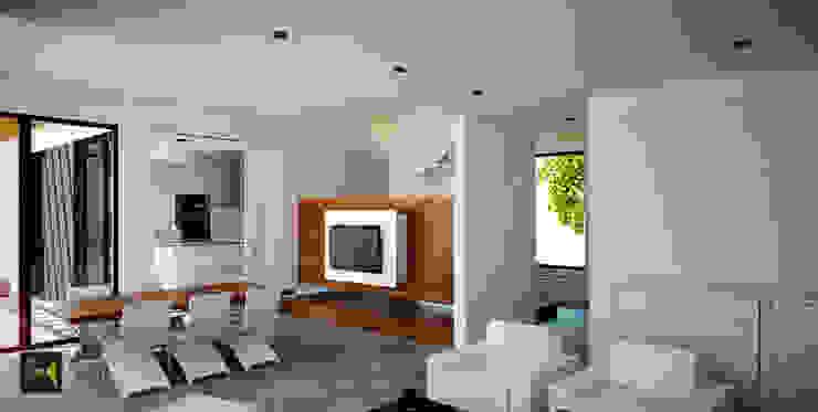 Made_ll_Modular_VIVIENDA en ALICANTE Comedores de estilo mediterráneo de Madehome Arquitectura Mediterráneo