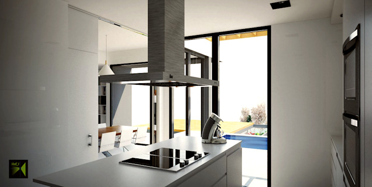 Made_ll_Modular_VIVIENDA en ALICANTE Cocinas de estilo mediterráneo de Madehome Arquitectura Mediterráneo