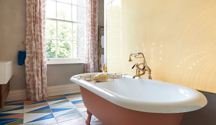 Drummond's Case Study: London Townhouse, Notting Hill 根據 Drummonds Bathrooms 簡約風